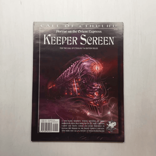 Call of Cthulhu (7th ed) Keeper Screen : Orient Express