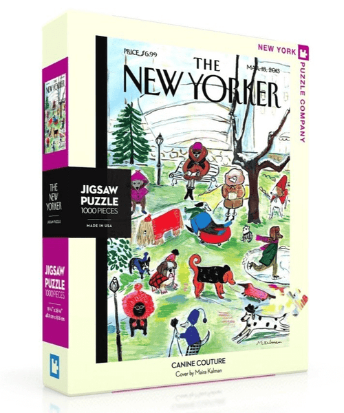 Puzzle (1000pc) New Yorker : Canine Couture