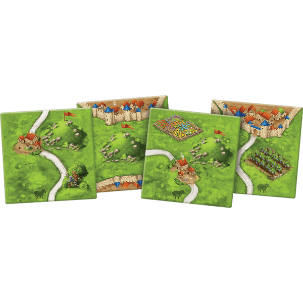 Carcassonne (2nd ed) Expansion : 9 Hills and Sheep