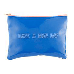Carry All Pouch (8x6in) Have a Nice Day
