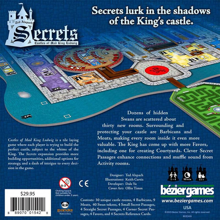 Castles of Mad King Ludwig Expansion : Secrets