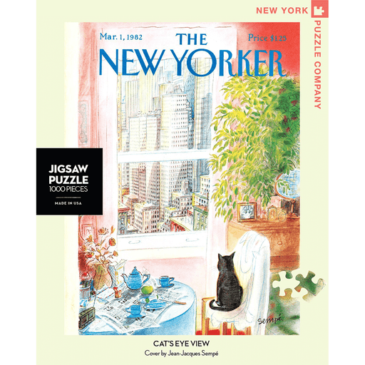 Puzzle (1000pc) New Yorker : Cat's Eye View