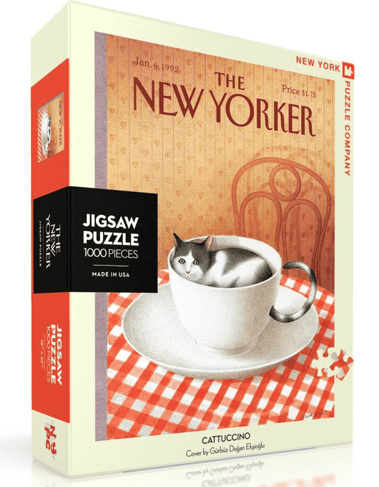 Puzzle (1000pc) New Yorker : Cattuccino
