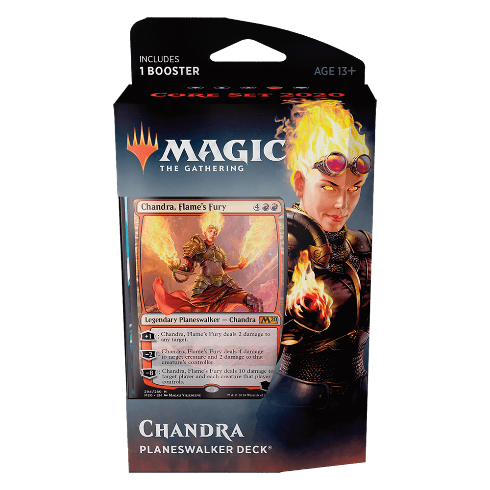 MTG Planeswalker Deck : Core Set 2020 (M20) Chandra