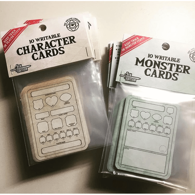 Combat Cards : Monster Cards