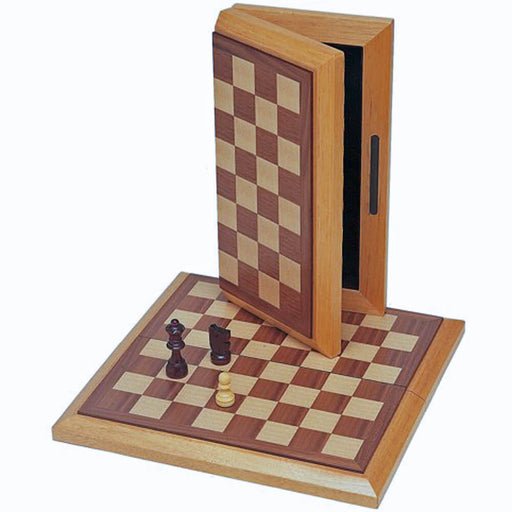Chess Folding (12in) Walnut