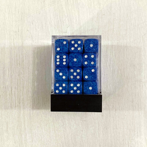 Dice Set 36d6 Speckled (12mm) 25906 Water