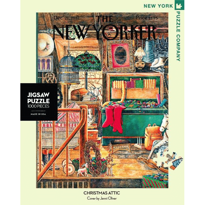 Puzzle (1000pc) New Yorker : Christmas Attic