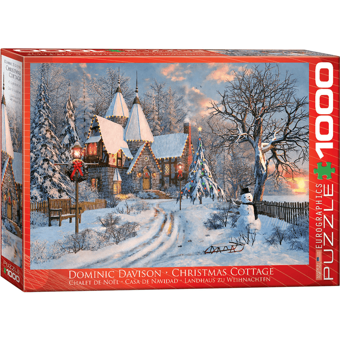 Puzzle (1000pc) Christmas Cottage