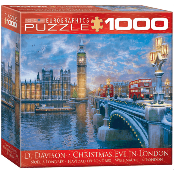 Puzzle (1000pc) Christmas Eve in London