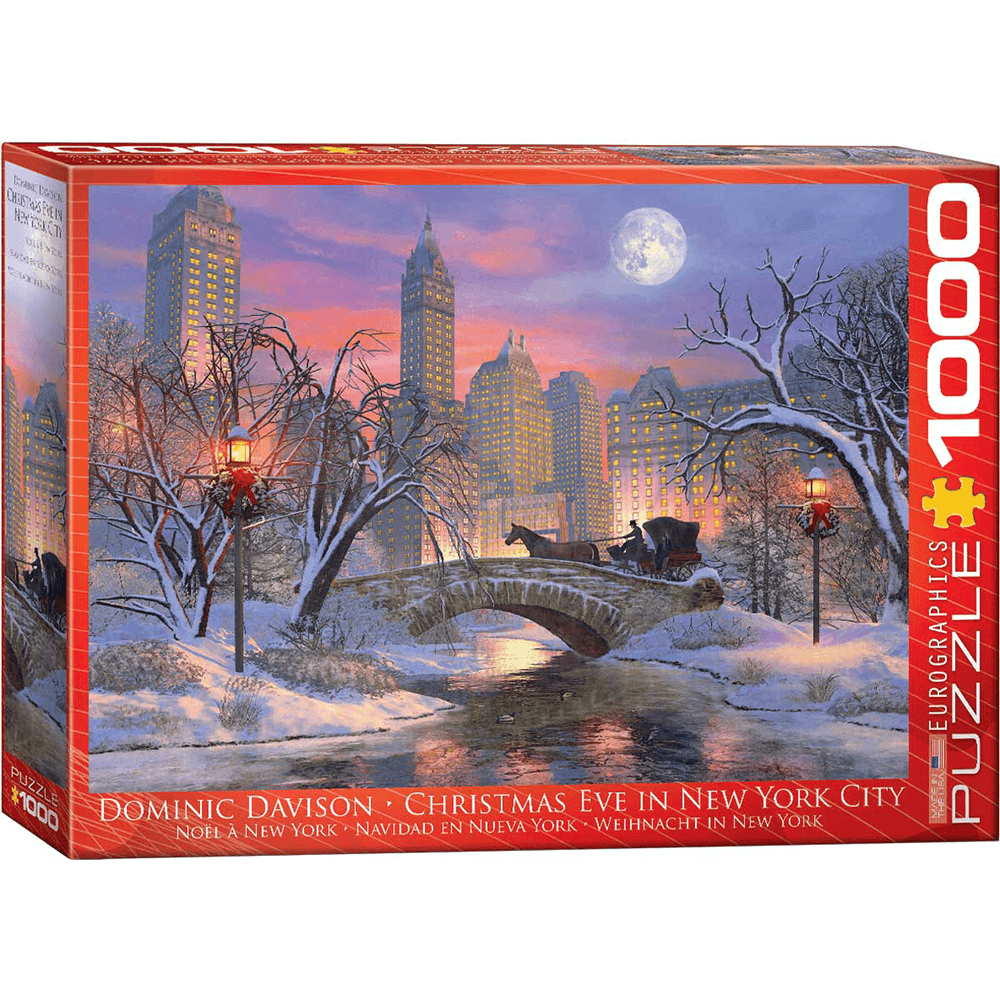 Puzzle (1000pc) Christmas Eve in New York