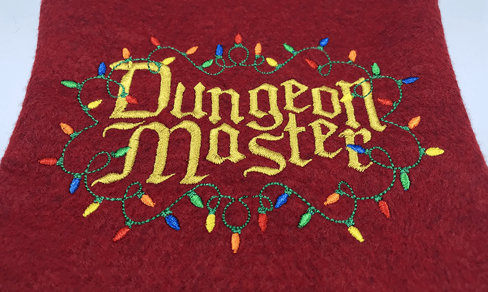 Christmas Stocking : Dungeon Master