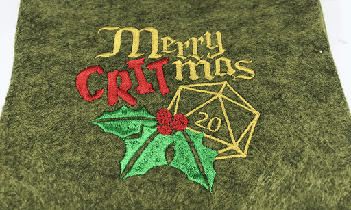 Christmas Stocking : Merry Critmas