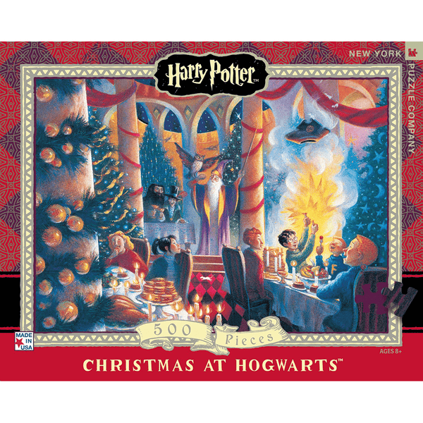 Puzzle (500pc) Harry Potter : Christmas at Hogwarts