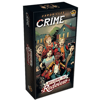 Chronicles of Crime Expansion : Welcome to Redview