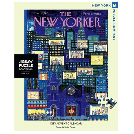 Puzzle (1000pc) New Yorker : City Advent Calendar