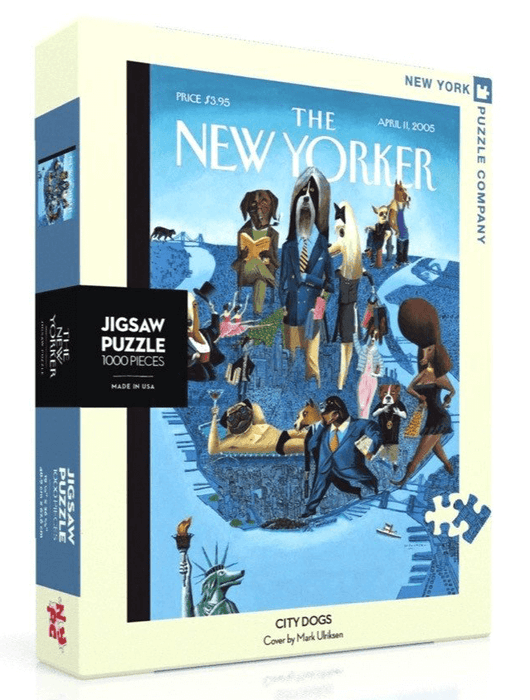 Puzzle (1000pc) New Yorker : City Dogs