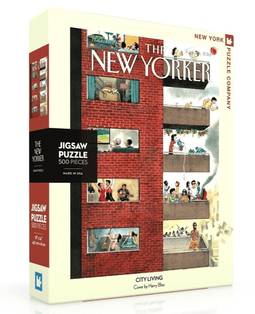 Puzzle (500pc) New Yorker : City Living