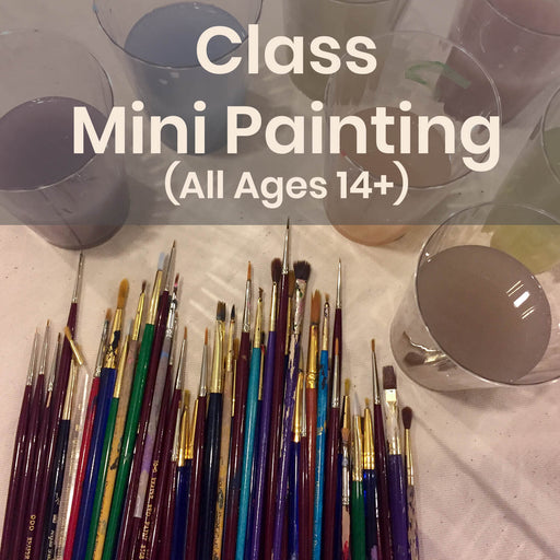 Class | Mini Painting (All Ages 14+) - Tuesdays @ 5p