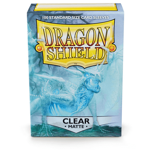 Sleeves Dragon Shield (100ct) Matte : Clear