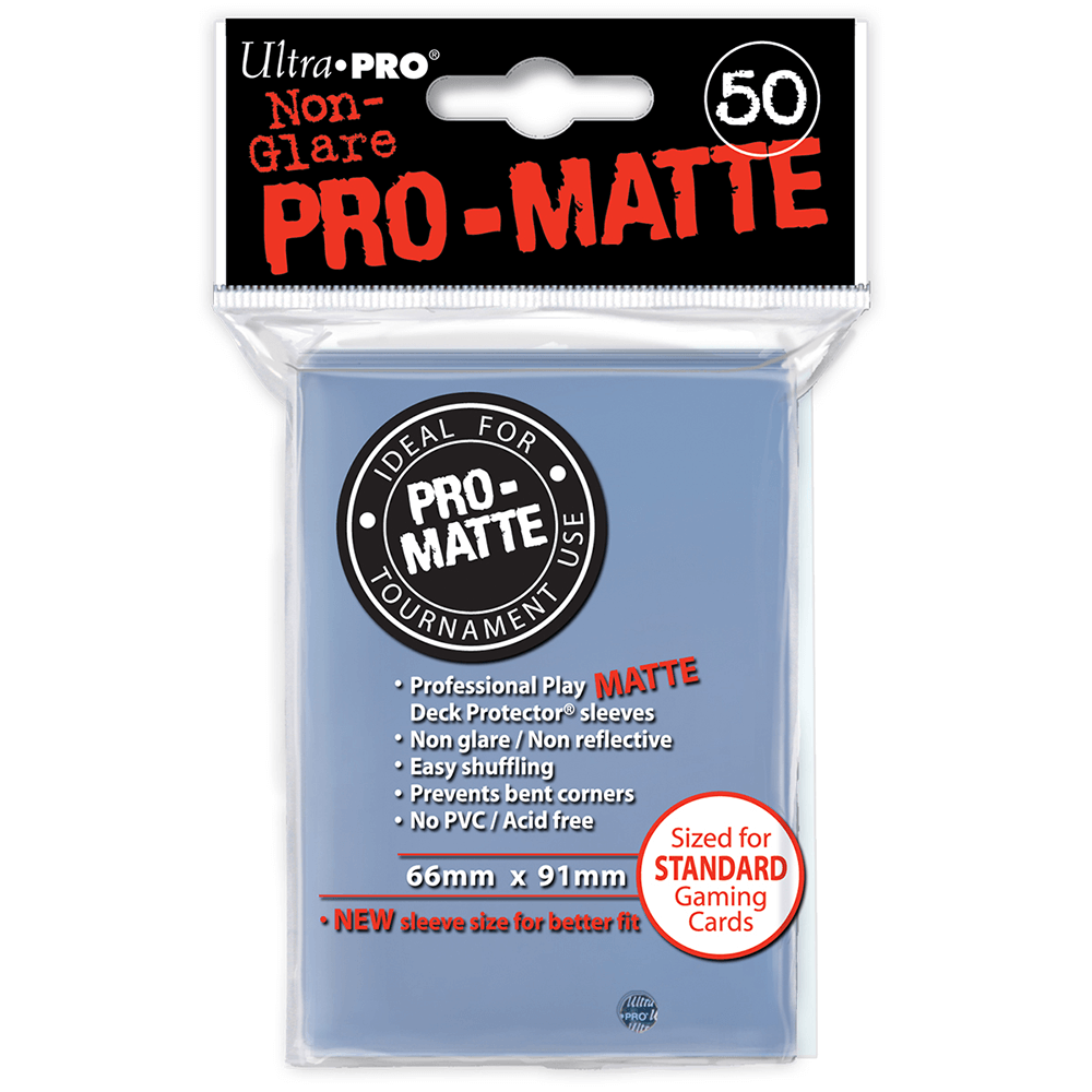 Sleeves Ultra Pro (50ct) Pro Matte : Clear