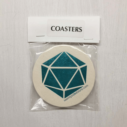 Coasters 20ss Logo (8ct) Foil