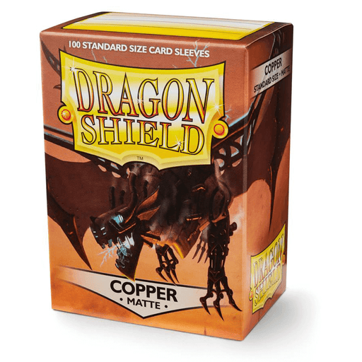 Sleeves Dragon Shield (100ct) Matte : Copper