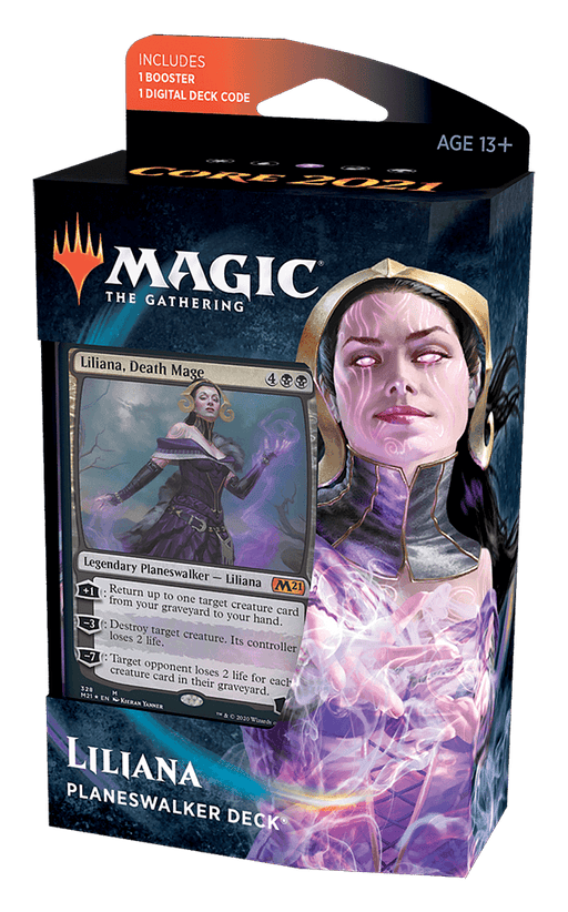 MTG Planeswalker Deck : Core Set 2021 (M21) Liliana