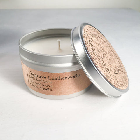 Cantrip Candles (6oz) Cosgrave Leatherworks