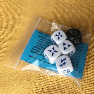 Cosmic Wimpout Deluxe (w/ Playmat & Leather Dice Bag)
