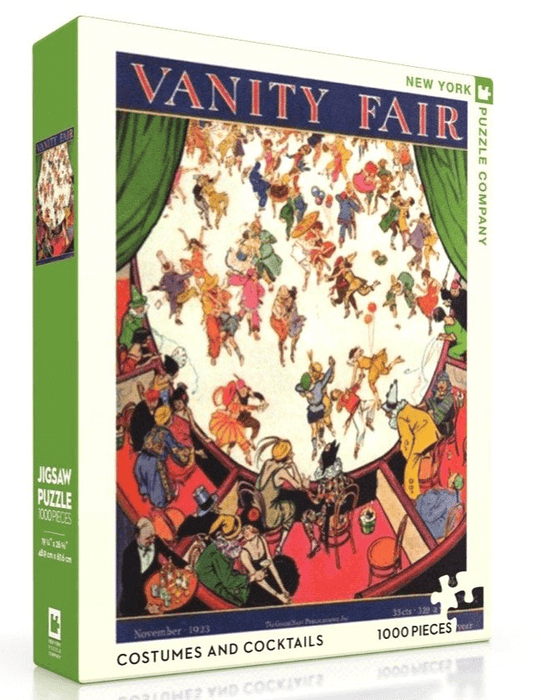 Puzzle (1000pc) Vanity Fair : Costumes and Cocktails