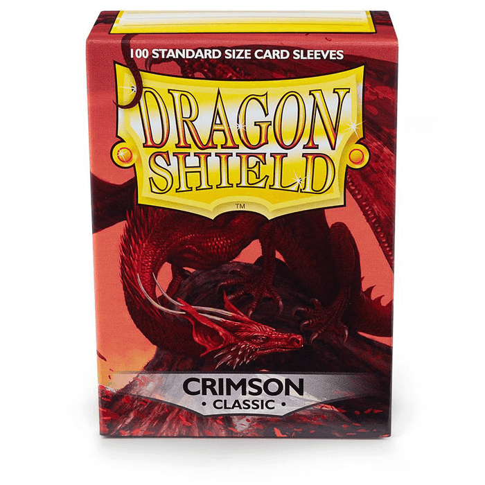 Sleeves Dragon Shield (100ct) Classic : Crimson