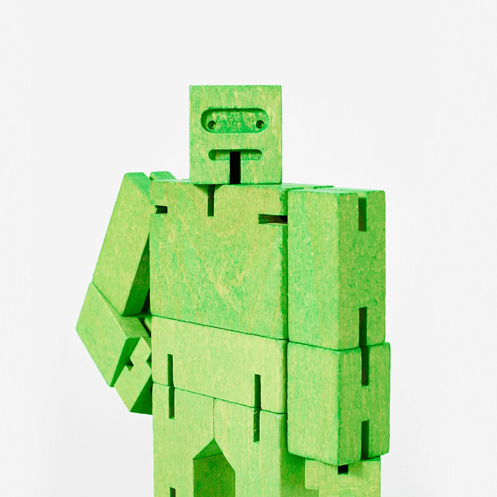 Cubebot - Micro : Green