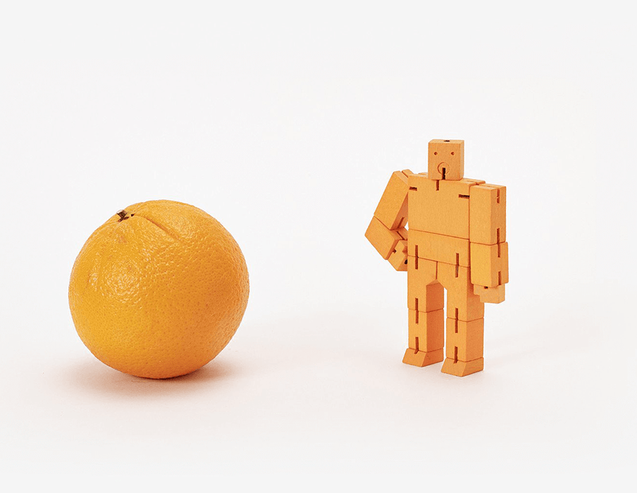 Cubebot - Micro : Orange
