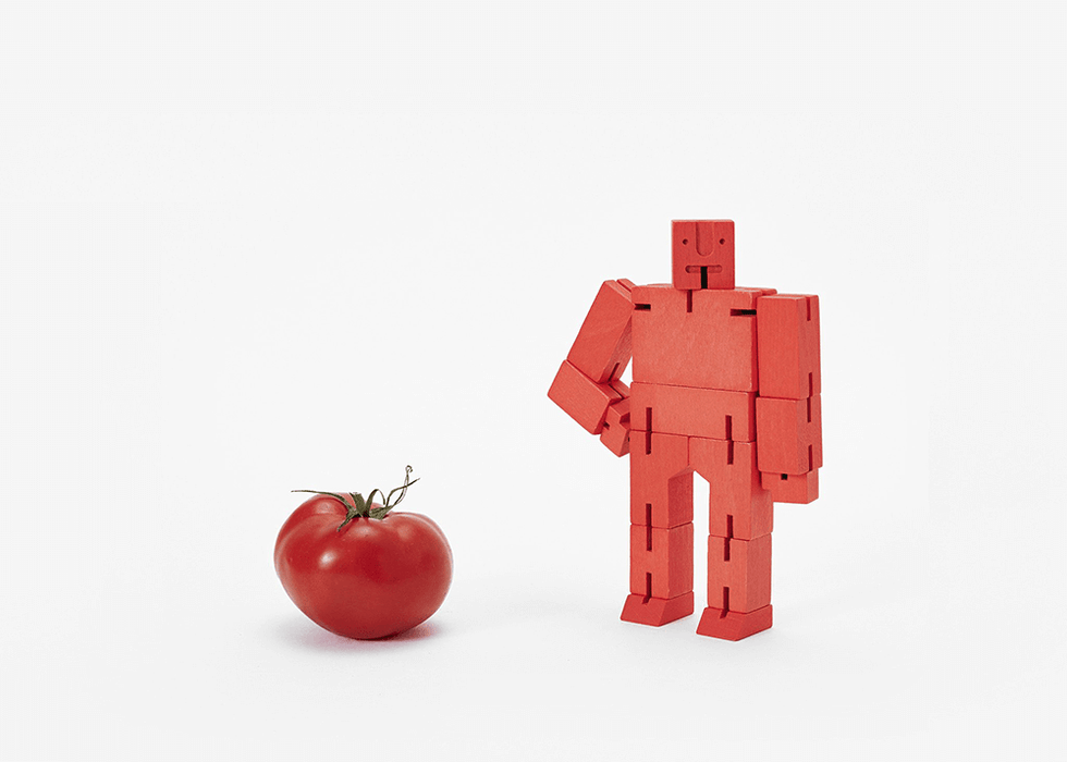 Cubebot - Small : Red