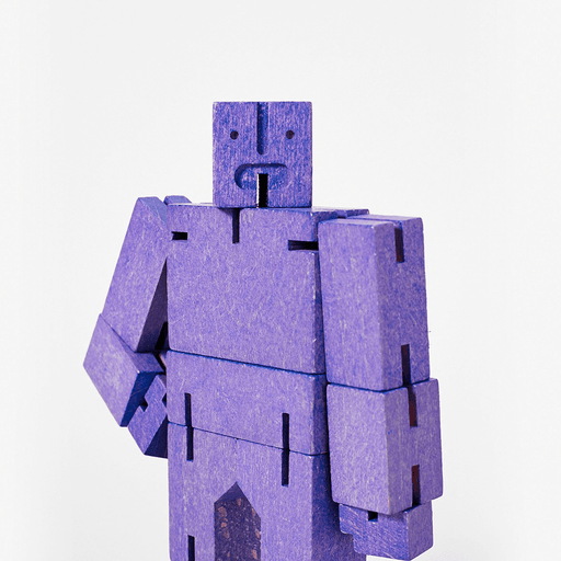 Cubebot - Micro : Violet