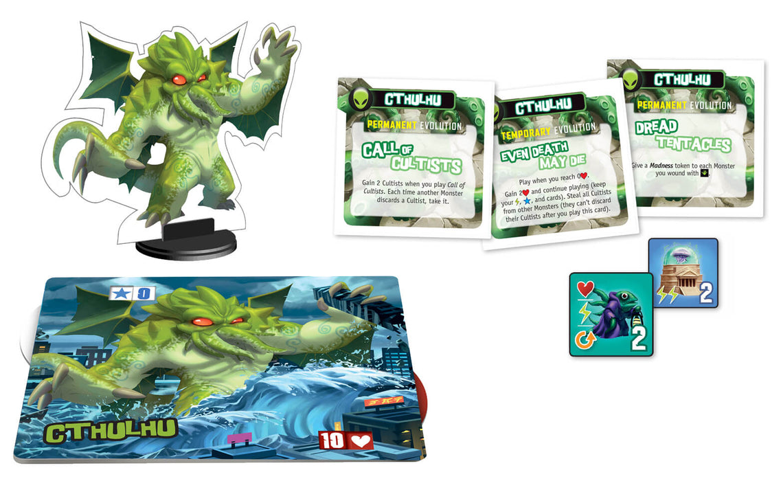 King of Tokyo / New York (2nd ed) Monster Pack : 01 Cthulhu
