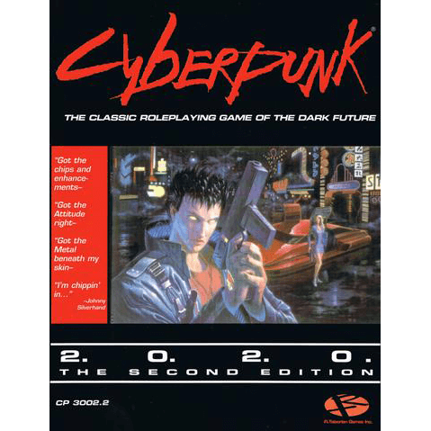 Cyberpunk 2020 (2nd ed) Core Rulebook