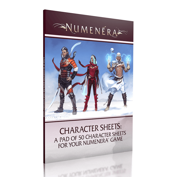 Cypher System Numenera Character Sheets