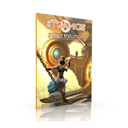 Cypher System The Strange Module : Strange Revelations
