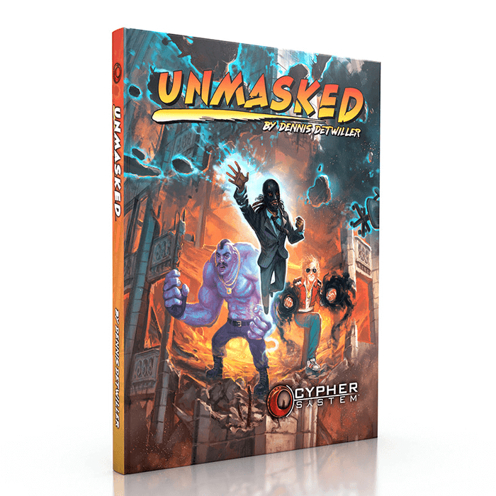 Cypher System Unmasked Campaign Setting