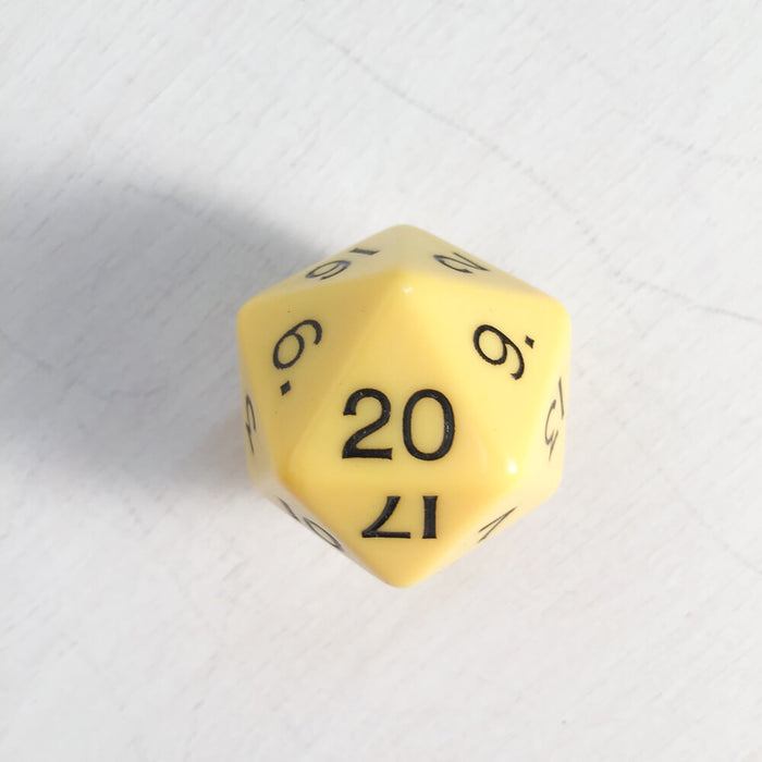 Polyhedral Dice Jumbo d20 (30mm) Assorted