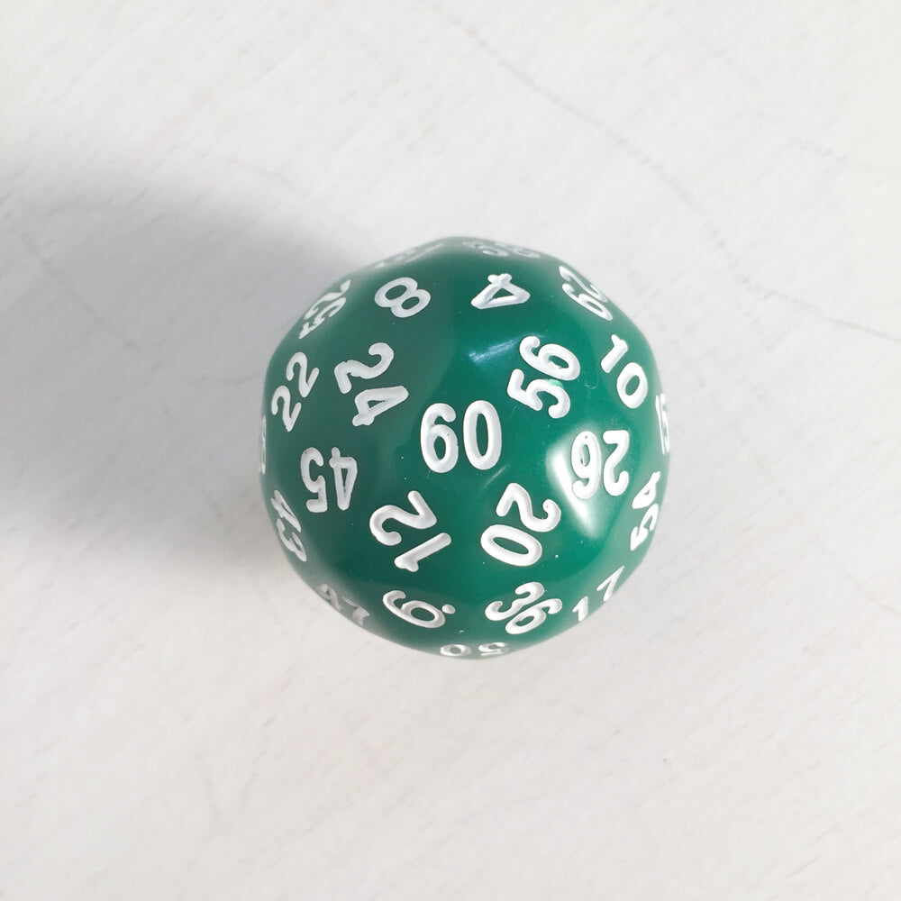 Polyhedral Dice Jumbo d60 (30mm) Assorted