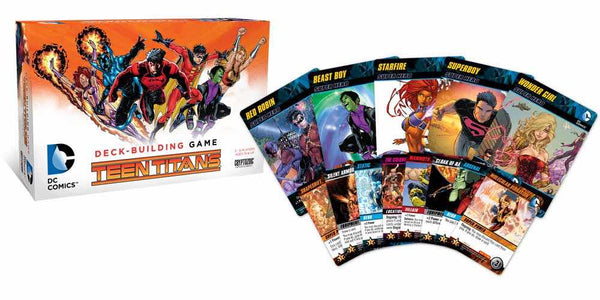 DC Comics Deck Building Game Teen Titans