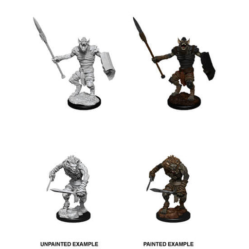 Mini - D&D Nolzur's Marvelous : Gnoll & Gnoll Flesh Gnawer