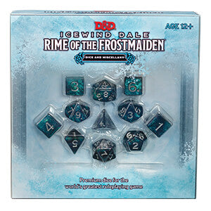 D&D Premium Dice Set : Icewind Dale Rime of the Frostmaiden