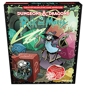 D&D (5e) Dungeons and Dragons VS Rick and Morty