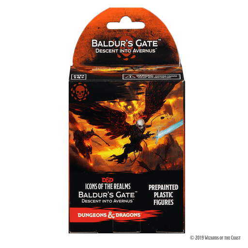 Mini - D&D Icons of the Realms Booster : Baldur's Gate Descent into Avernus