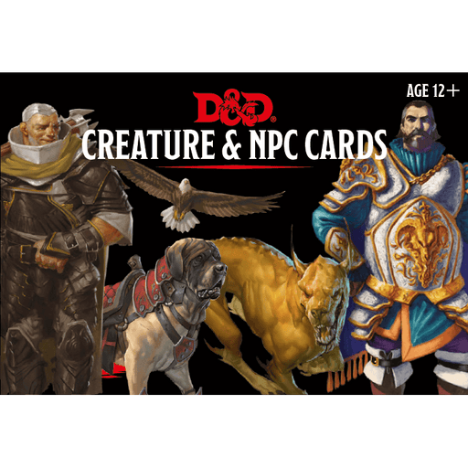 D&D (5e) Monster Cards : Creature and NPC Cards