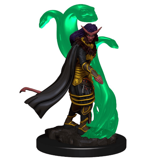 Mini - D&D Icons of the Realms Premium : Tiefling Sorcerer (Female)